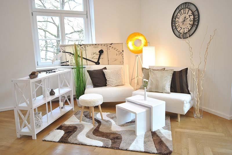 Wohnzimmer Mietmöbel-Set
